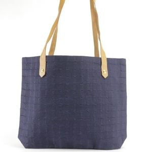 Hermes Blue Ahmedabad Tote with Box 21HK1207